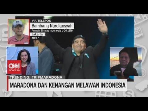 Maradona Dan Kenangan Melawan Indonesia