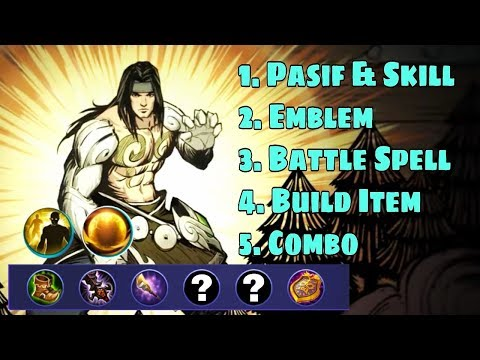 New Hero BADANG Skill Emblem Build Combo Full