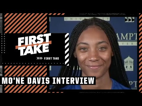 Mo'ne Davis on life after LLWS & softball at Hampton University   First Take