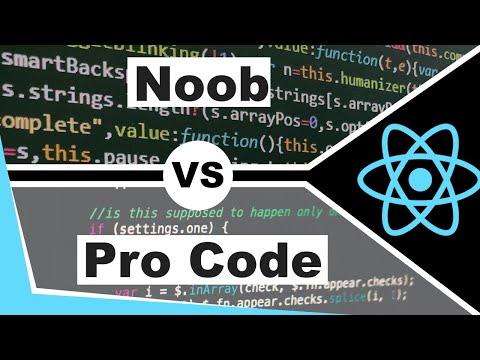 Junior Vs Senior Code - How To Write Better Code As A Web Developer - React