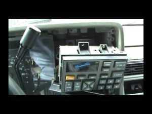 '93 Chevy Silverado Aftermarket Radio Install  YouTube