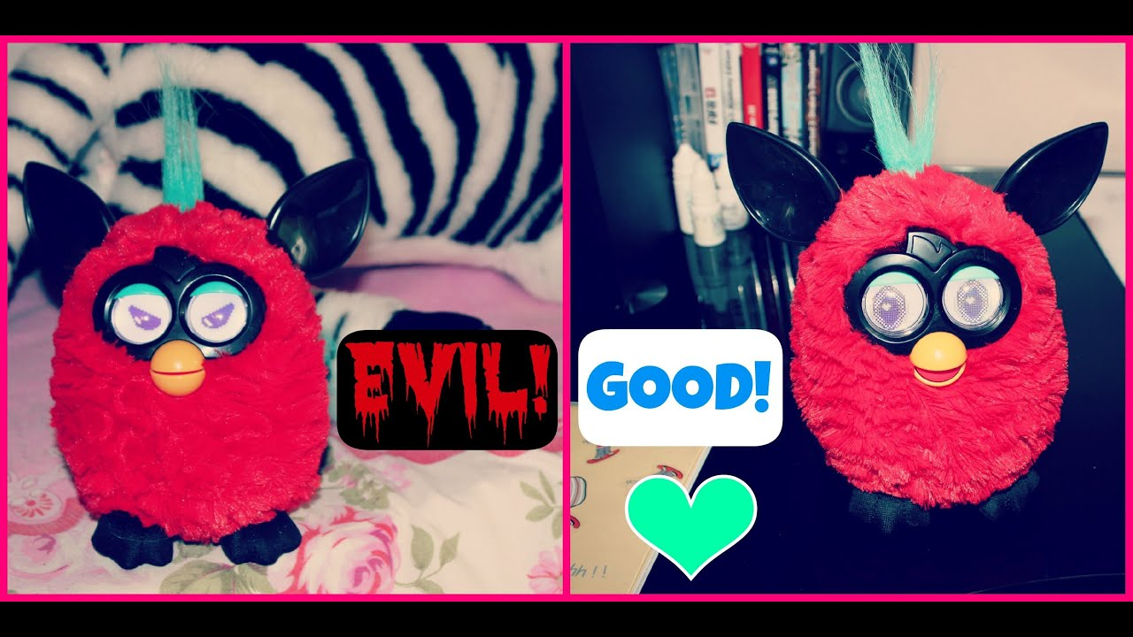 How To Turn Your Furby From Evil To Good (Normal Factory