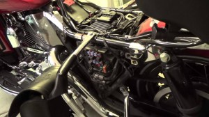 How to get to the fuse panel on a Harley Davidson Electra