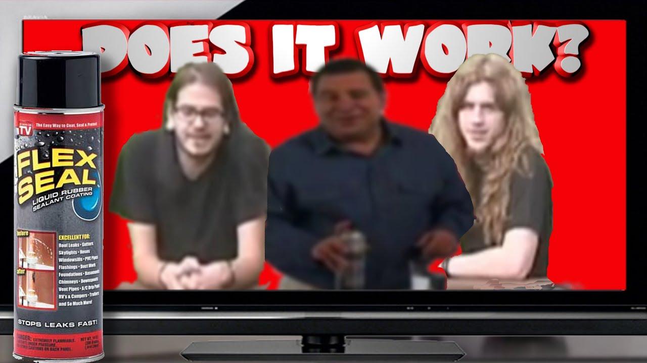 Does It Work Flex Seal YouTube