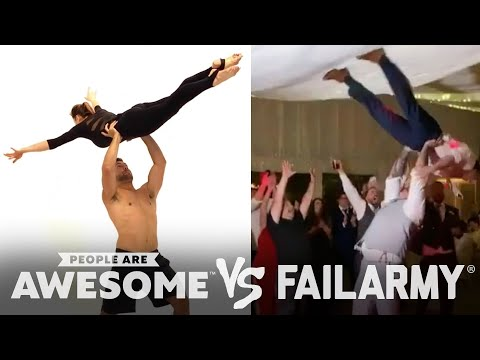 Terrible and Amazing Dance Moves | People Are Awesome Vs. FailArmy