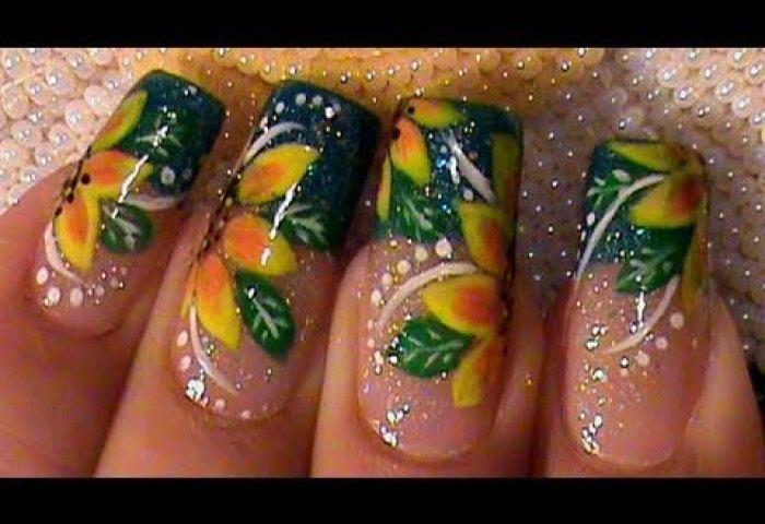 Como Pintar Flores Girasoles Y Catarina Tutorial Decoracion Para
