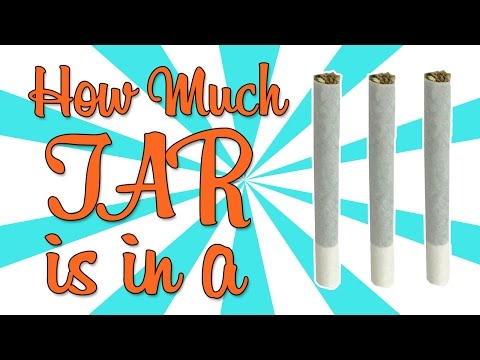 HOW MUCH TAR IS IN A JOINT???