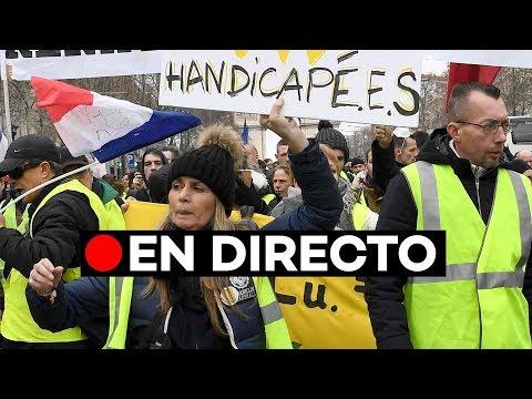 [EN DIRECTO] Los 'Chalecos amarillos' organizan la 18ª ronda de protestas en París