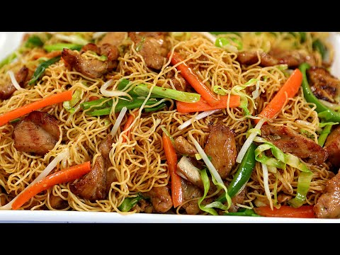 How To Make Perfect Chicken Chow Mein - Better Than Takeout