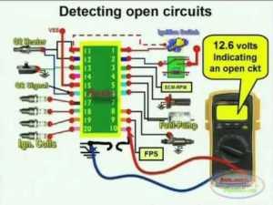 Open Circuit Detection & Wiring Diagram 1  YouTube