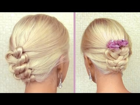 elegant prom hairstyle for long hair tutorial with extensions how to do a wedding updo