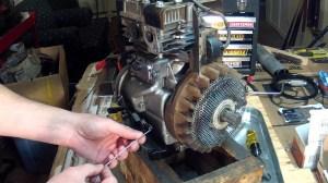 Briggs and Stratton 5HP  Carburetor Linkage Setup