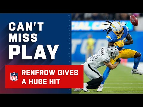 Hunter Renfrow All-Pro Safety, Thoughts?