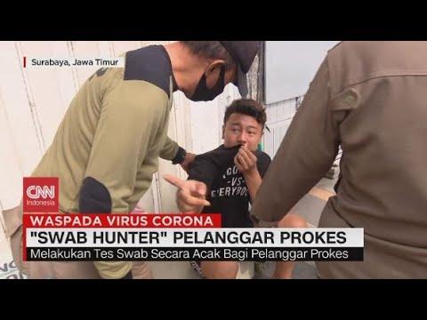 'Swab Hunter', Tim Pencari Pelanggar Prokes Covid-19