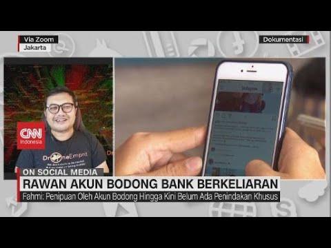Rawan Akun Bodong Bank Berkeliaran