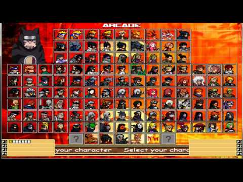 download game naruto fighting java