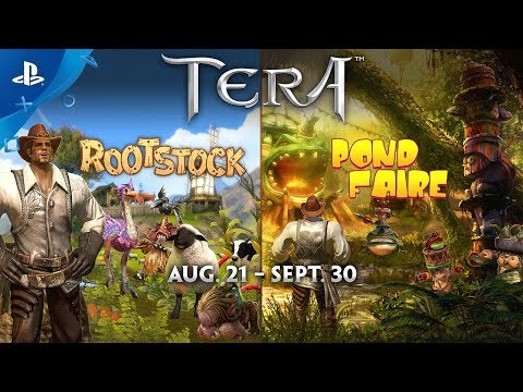 tera rootstock pond faire festivals trailer ps4 max level mag