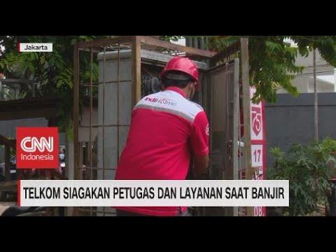 Telkom Siagakan Petugas & Layanan Saat Banjir