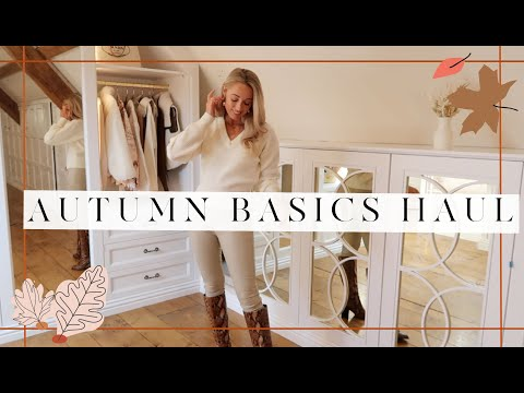 AUTUMN BASICS HAUL // & Other Stories Try On // 🍂 #FashionMumblrAutumnEdit 🍂