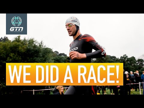 We Finally Did A Triathlon In 2020!   The Show Ep. 161