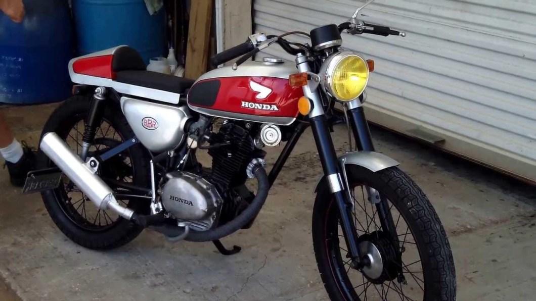 Honda Cb100 Cafe Racer Parts Caferacer Wbi