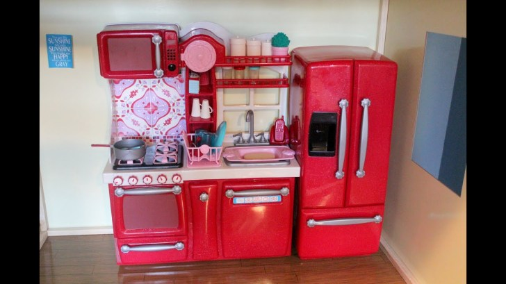Opening Our Generation Kitchen Set American Girl Dolls