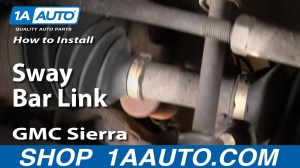 How To Install Replace Stabilizer Bar Link Chevy Silverado GMC Sierra 9906 1AAuto  YouTube