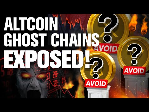 """AVOID THESE ALTCOINS!! The """"FAKE"""" Ghost Chains…"""