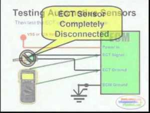 ECT Sensor & Wiring Diagram  YouTube