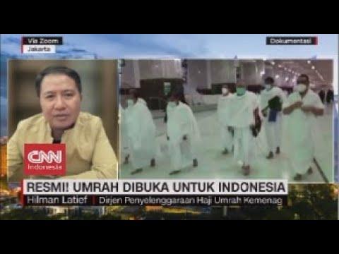 Resmi! Umrah Dibuka untuk Indonesia