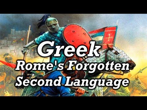 Why The Byzantines Spoke Greek Instead of Latin