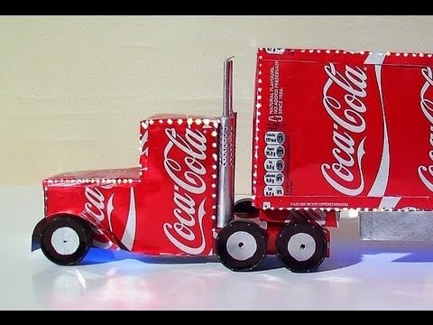 How To Make Coca Cola Truck Christmas Decoration YouTube