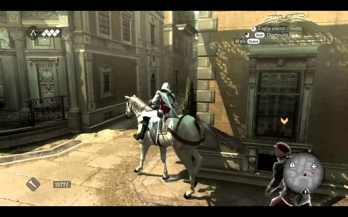 Assassins Creed Brotherhood HORSE RIDING YouTube