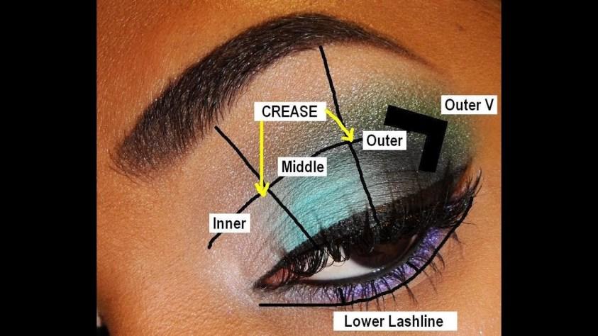 BASICS   Parts of the Eye & Eyeshadow Placement - YouTube