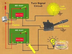How to Make a Relay Turn Signal  YouTube