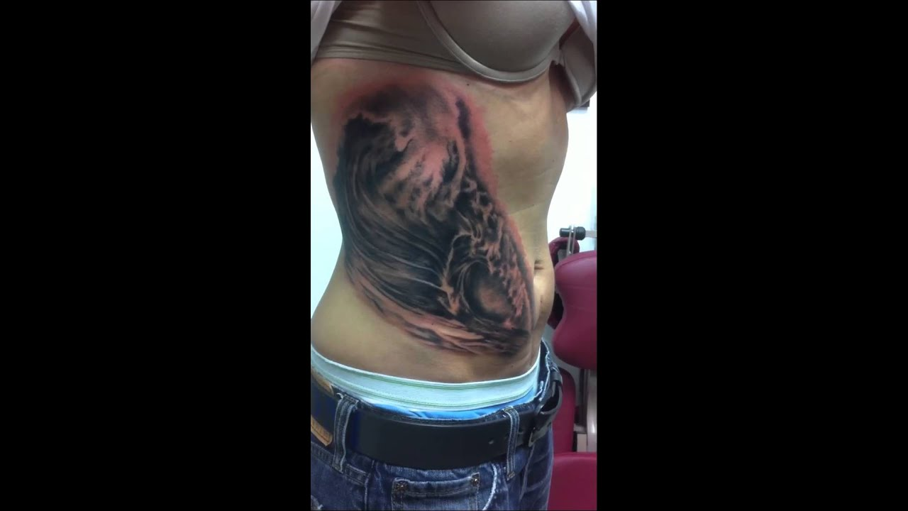 realistic ocean wave tattoos realistic ocean wave tattoos