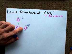 Lewis Structure of ClO3 (chlorate anion)  YouTube