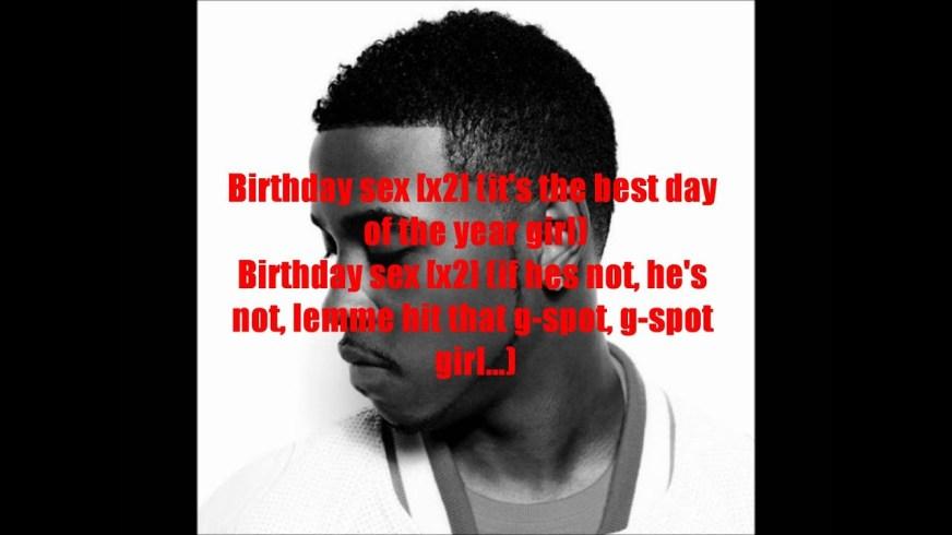 birthday sex dirty lyrics