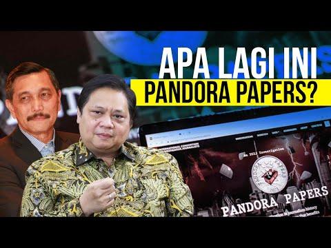Luhut dan Airlangga Masuk Skandal Pajak Pandora Papers?