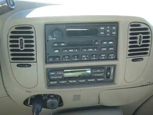 Ford Expedition Remove Radio & Poor Reception Repair  YouTube