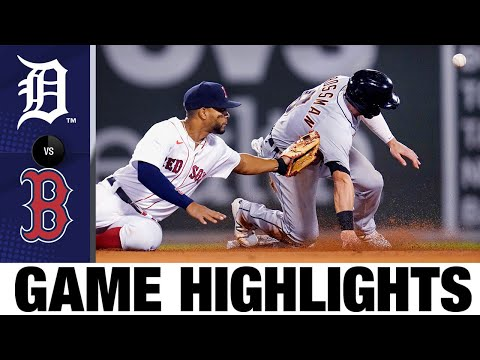 Tigers vs. Red Sox Full Game Highlights (5/4/21) | MLB Highlights