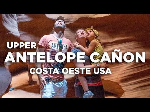 Upper Antelope cañon Page. Costa Oeste USA