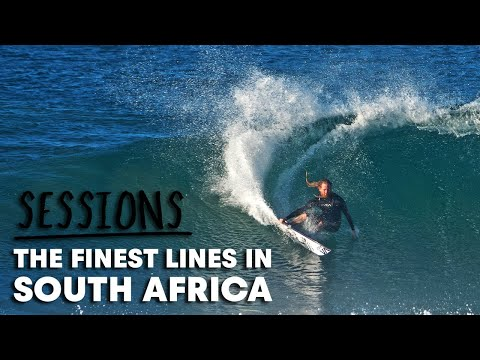 Missing The J-Bay Open, We Decided To Make This Reel Of Epic South African Surfing | Sessions