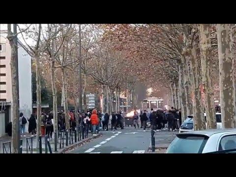 Francia moviliza casi 90.000 agentes por las manifestaciones de los 'chalecos amarillos'