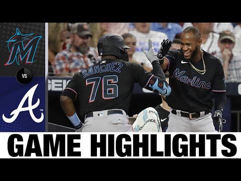 Marlins vs. Braves Game Highlights (9/11/21) | MLB Highlights