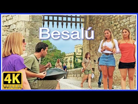 【4K】WALK SPAIN Catalonia 4k video HDR GIRONA TRAVEL vlog