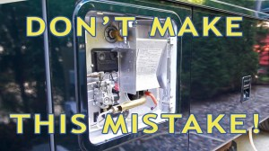 RV Water Heater Fail! Don't Make This Newbie Mistake!  YouTube
