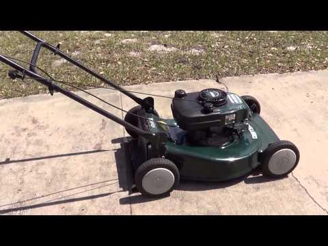 Craftsman 21 Push Lawn Mower Model 917