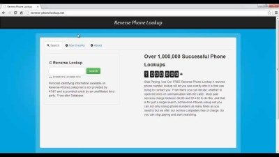 Reverse Phone Lookup With Name Results FREE Work 100% ...