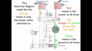 How to read an electrical diagram Lesson #1  YouTube